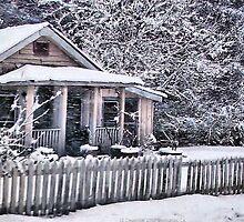 Little House on 25 by Victoria John Ritterbush