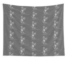 Plant Carrier and Kayaking Elephant Wall Tapestry
