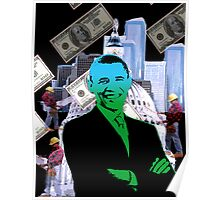 Faith in Barack Obama in the economy Poster