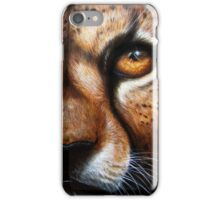 Save Me - Cheetah with Pleading Eyes iPhone Case/Skin