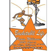 logo-basketball life by kevin williams