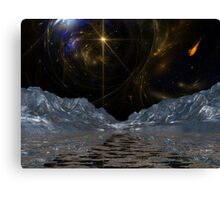 Asteroid Valley 04 Canvas Print