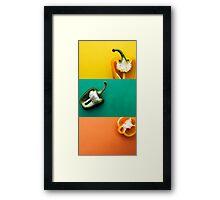 Pepper Combo Framed Print