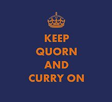 Keep Quorn and Curry On by taiche