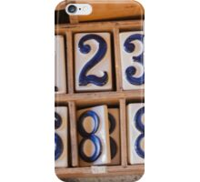 art of number iPhone Case/Skin