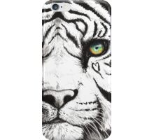 Beautiful - Tiger With Blue Green Eyes iPhone Case/Skin