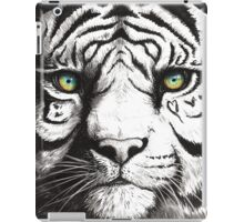 Beautiful - Tiger With Blue Green Eyes iPad Case/Skin