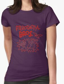 Gravity Falls Pterodactyl Bros replica Womens Fitted T-Shirt