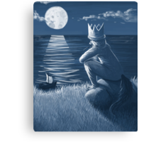 the king of all wild things Canvas Print
