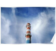 urban chimney-stalk  Poster