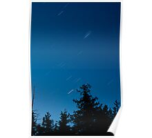 Star trails 1 Poster