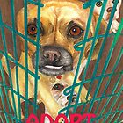 Buddha Dog Says Adopt by joga