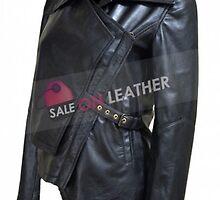 Katniss Everdeen Leather Jacket by selenaallen22