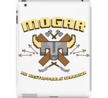 Mogar is Ready iPad Case/Skin
