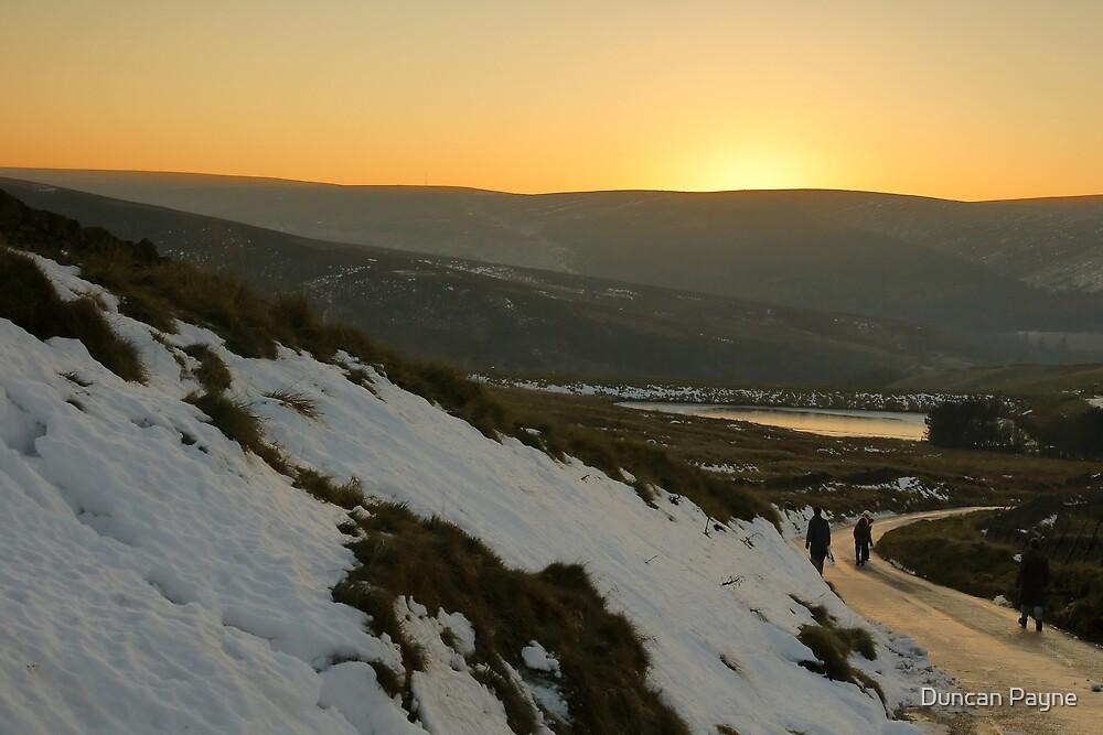 Winter Sunset by Duncan Payne
