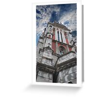 gothic architecture Greeting Card