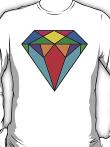 Colourful diamond 2 T-Shirt