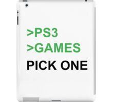 PS3 Has No Games iPad Case/Skin