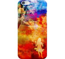 Singing in the swing iPhone Case/Skin