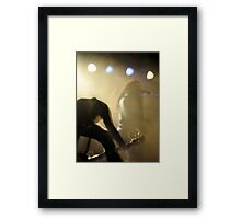 Sevendust In The Mist Framed Print