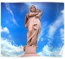Statue of Divine Mother Poster