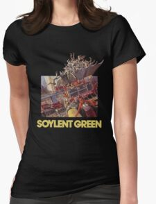 Soylent Green Womens Fitted T-Shirt