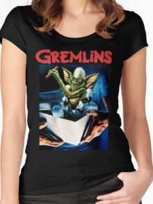 Gremlins Women's Fitted Scoop T-Shirt