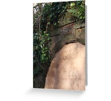 The Fading Portrait Greeting Card