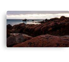 Dawn at Meelup Beach Canvas Print