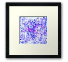 Shine watercolor Framed Print