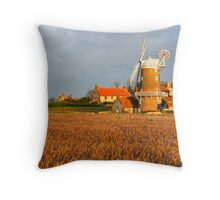 Cley Windmill Throw Pillow