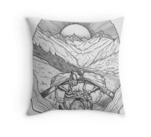 The Unknown Path... Throw Pillow