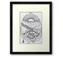The Unknown Path... Framed Print
