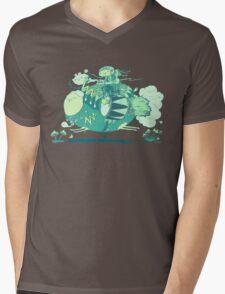 Walk with a friend Mens V-Neck T-Shirt