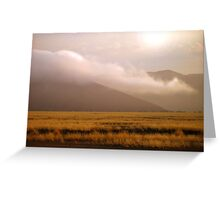Before the Sun is High in the Sky Greeting Card