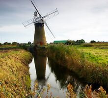 St Bennets Windmill by Rick Bowden