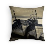 Mull Boats Throw Pillow