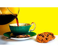 Coffee and Cookies Photographic Print