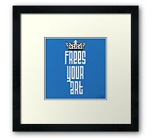 FYA - Frees Your Art #1 Framed Print