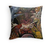 Requiem for the Status Quo Throw Pillow
