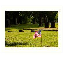 Memorial Flag 1 Art Print