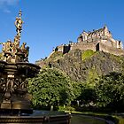 Edinburgh Castle by Stuart Robertson Reynolds