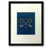 Keyblade Master (Kingdom Hearts) Framed Print