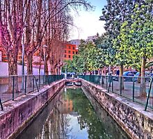 irrigation ditch in Vila-real, Valencia, Spain by jordimonfort