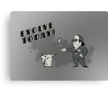 (I Don't Want to) Evolve Today! Canvas Print