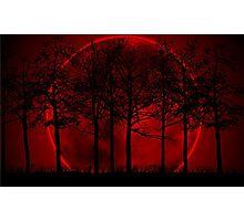 Blood Moon Rising Photographic Print
