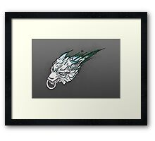 Meteor Wolf (Final Fantasy) Framed Print