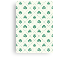 Shamrock On! Canvas Print