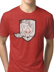 God Hound (without writing) Okami Tri-blend T-Shirt