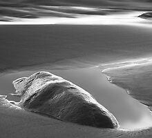 Beach scene by Gaspar Avila